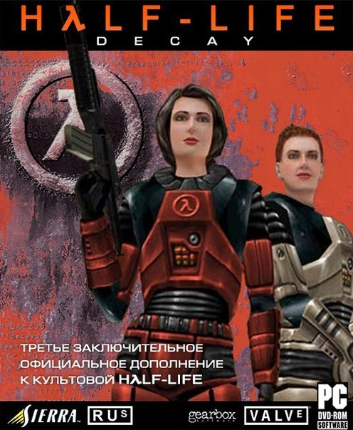 Cover for Half-Life: Decay.