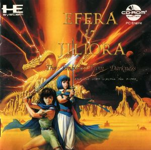 Cover for EFERA & JILIORA The Emblem From Darkness.