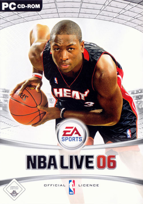 Cover for NBA Live 06.