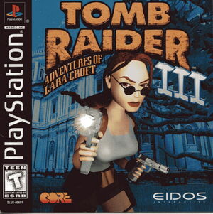 Cover for Tomb Raider III.
