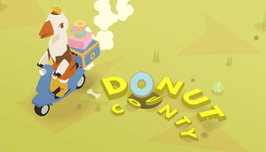 Cover for Donut County.