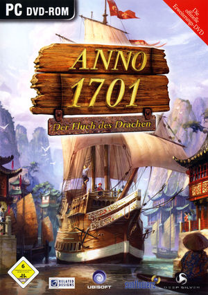 Cover for Anno 1701: The Sunken Dragon.