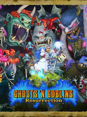 Cover for Ghosts 'n Goblins Resurrection.