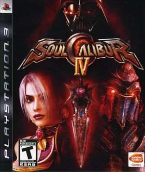Cover for Soulcalibur IV.