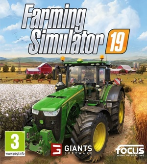 Cover for Farming Simulator 19.