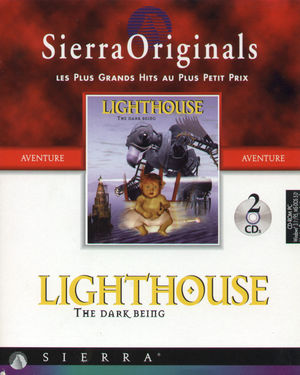 Cover for Lighthouse: The Dark Being.
