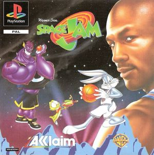 Cover for Space Jam.