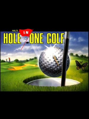 Cover for Hal's Hole in One Golf.