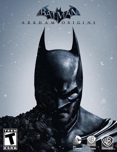 Cover for Batman: Arkham Origins.