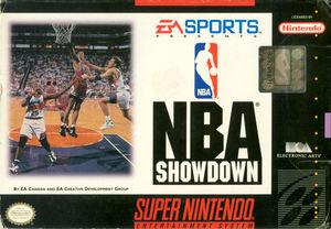 Cover for NBA Showdown.