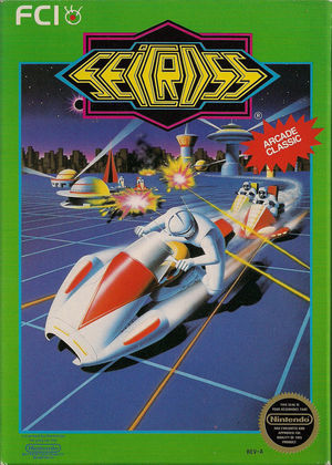 Cover for Seicross.