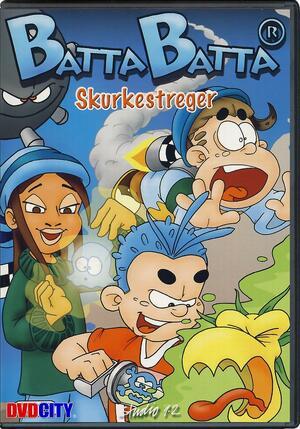 Cover for Batta Batta: Skurkestreger.