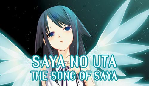 Cover for Saya no Uta.