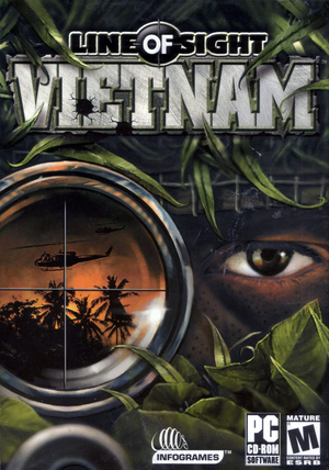 Cover for Line of Sight: Vietnam.