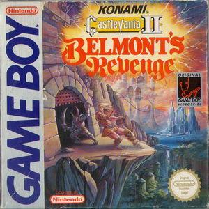 Cover for Castlevania II: Belmont's Revenge.