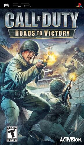 Cover for Call of Duty: Roads to Victory.