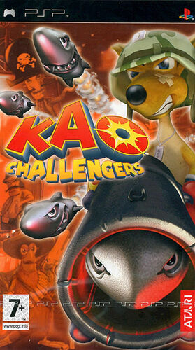 Cover for Kao Challengers.
