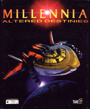 Cover for Millennia: Altered Destinies.