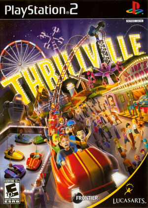 Cover for Thrillville.