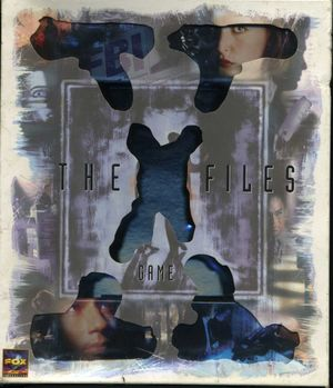 Cover for The X-Files Game.