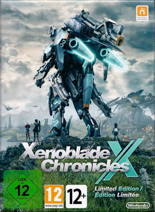 Cover for Xenoblade Chronicles X.
