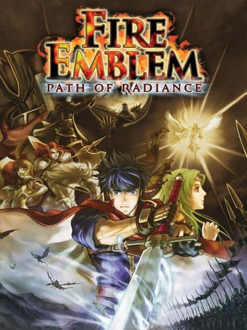Cover for Fire Emblem: Path of Radiance.