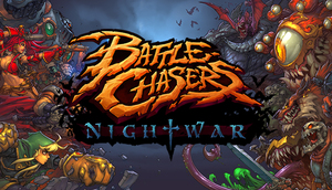 Cover for Battle Chasers: Nightwar.