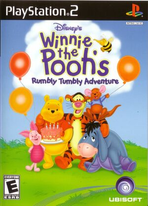 Cover for Winnie the Pooh's Rumbly Tumbly Adventure.