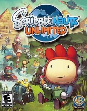 Cover for Scribblenauts Unlimited.