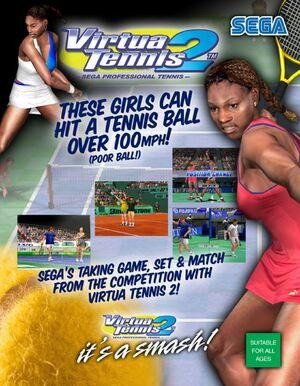 Cover for Virtua Tennis 2.