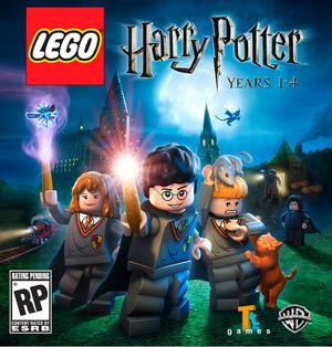 Cover for Lego Harry Potter: Years 1–4.