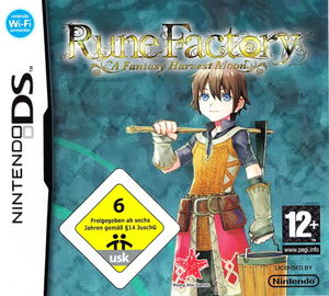 Cover for Rune Factory: A Fantasy Harvest Moon.