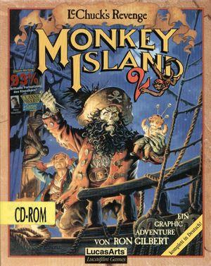 Cover for Monkey Island 2: LeChuck's Revenge.