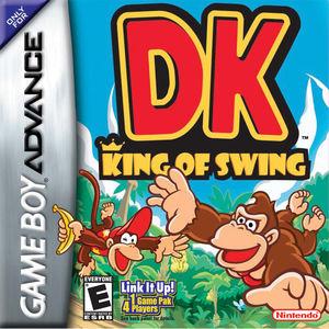 Cover for DK: King of Swing.