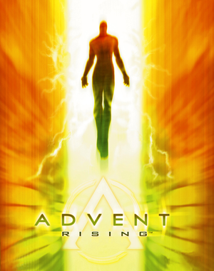 Cover for Advent Rising.
