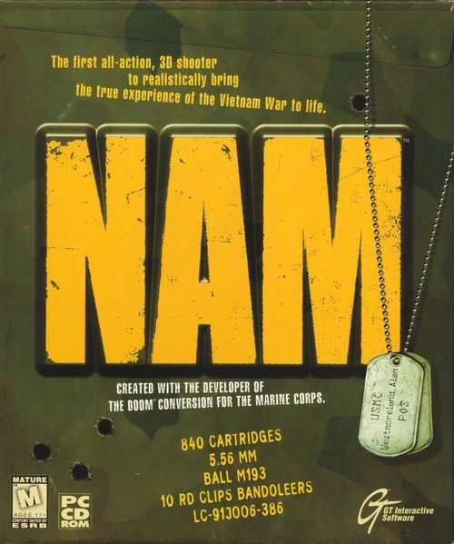 Cover for NAM.