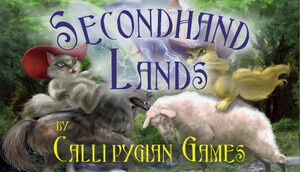 Cover for Secondhand Lands.