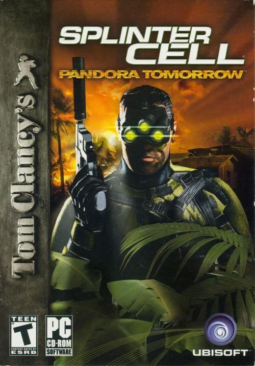 Cover for Tom Clancy's Splinter Cell: Pandora Tomorrow.