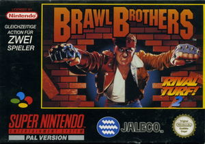Cover for Brawl Brothers.