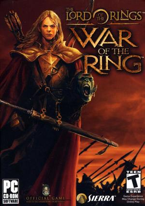 Cover for The Lord of the Rings: War of the Ring.