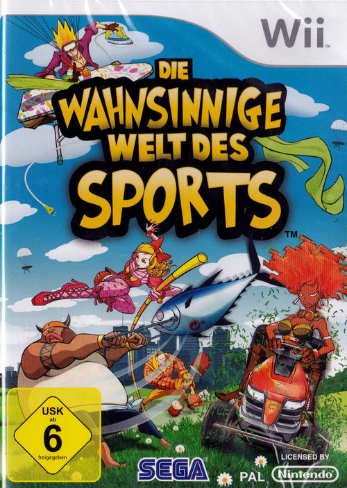 Cover for Wacky World of Sports.