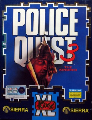 Cover for Police Quest III: The Kindred.