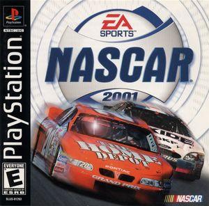 Cover for NASCAR 2001.