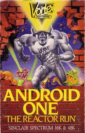 Cover for Android One: The Reactor Run.