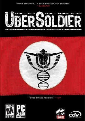 Cover for ÜberSoldier.
