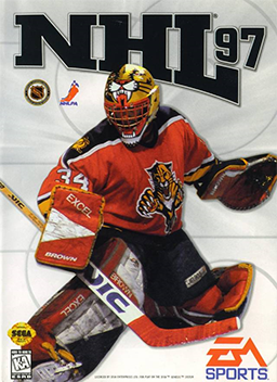 Cover for NHL 97.