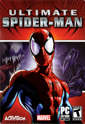 Cover for Ultimate Spider-Man.