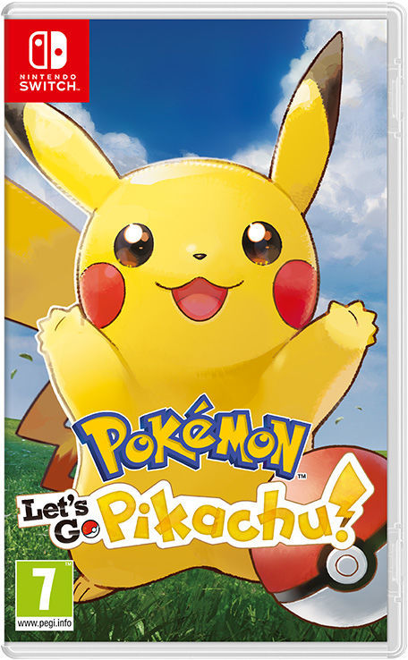Cover for Pokémon Let's Go, Pikachu!.