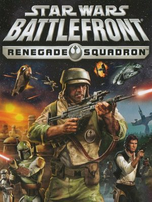 Cover for Star Wars Battlefront: Renegade Squadron.