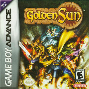 Cover for Golden Sun.